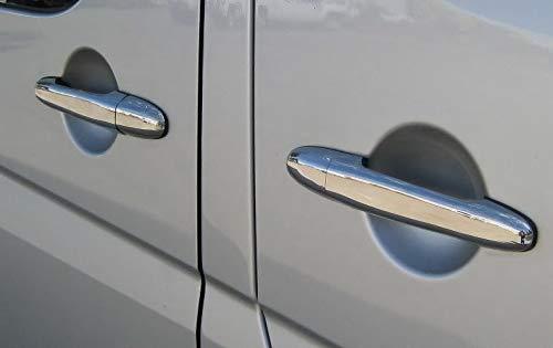 2006+ Chrome Door Handle Trim Set Covers To Fit Sprinter W906