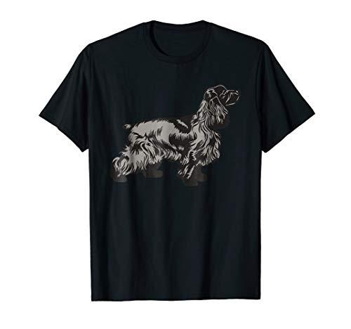 English Cocker Spaniel Dog Breed T-Shirt Gift Animal Dogs