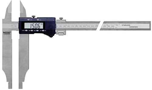 LCD Digi Workshop Caliper 300x0,01mm/jaw length 90 mm, with tips, with fine adjustm.,CE, operation manual, plastic box (2X LR44) Alkali Mangan battery IATA DGR A123 ''Not Restricted'' by Vogel Germany (Image #2)