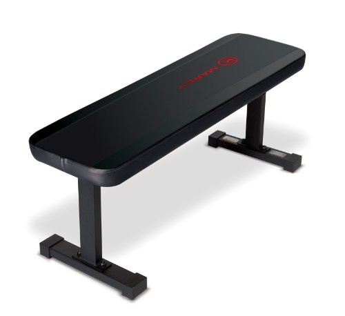 Marcy Flat Utility Weight Bench for Weight Training and Ab Exercises SB-315