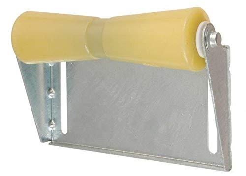 C.E. Smith 10455G Roller Bracket Assemblies - 12in. Keel - Yellow Rubber