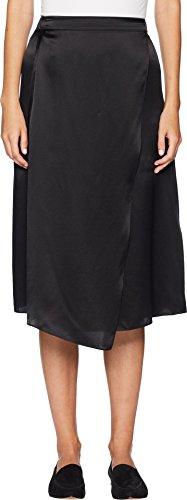 Vince Women's Drape Panel Skirt Black ()