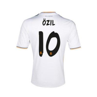 2013-14 Real Madrid Home Shirt (Ozil 10)
