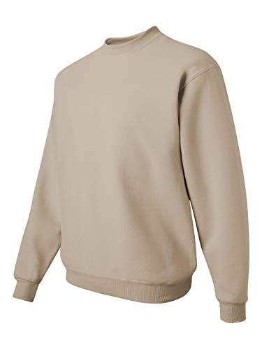 JERZEES - Crewneck Sweatshirt. 562M, 2XL, Sandstone