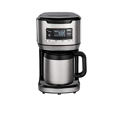 Hamilton Beach Programmable Front-Fill Coffee Maker with Thermal Carafe (46391)