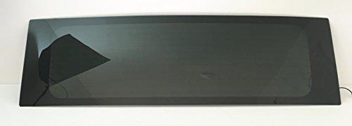 TYG Fits 2003-2010 Hummer H2 4 Door Utility Rear Window Back Glass ()