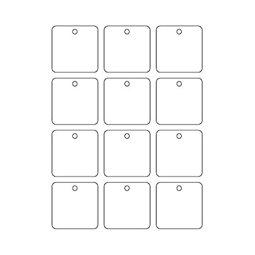 graphic about Printable Cardstock Tags known as large-top quality 60 Printable Cardstock Sq. Hold Tags with