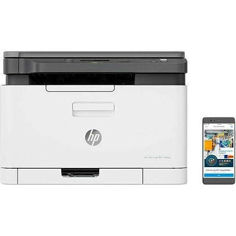 HP Impresora inalámbrica inalámbrica multifunción de Color ...