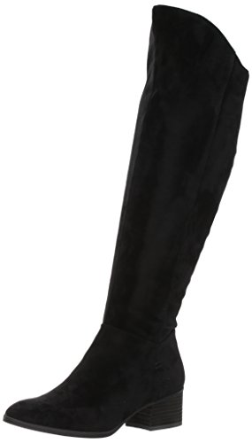 Dr. Scholl's Shoes Women's Tribute Riding Boot, Black Microfiber, 7.5 M US by Dr. Scholl's Shoes