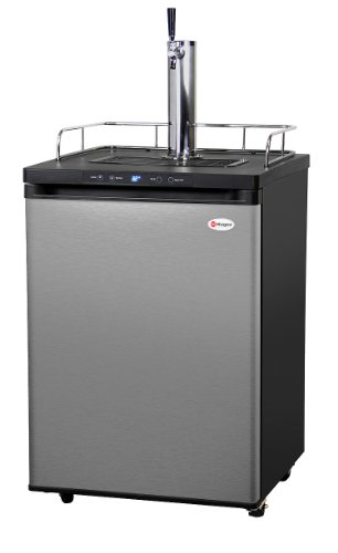 Kegco K309SS-1 Full Size Digital Kegerator - Stainless Steel