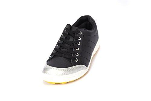 Svens-Schuh-Shop | scarpe Sneakers per uomo e donna | colore nero e argento, misura 42