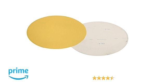 9 9 25-Pack Mercer Industries 256080 80 Grit Drywall Sanding Discs Hook /& Loop