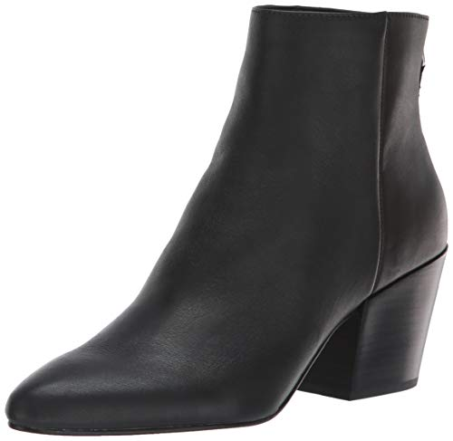 Dolce Vita Women's Coltyn Ankle Boot, Black Leather, 8 M US from Dolce Vita