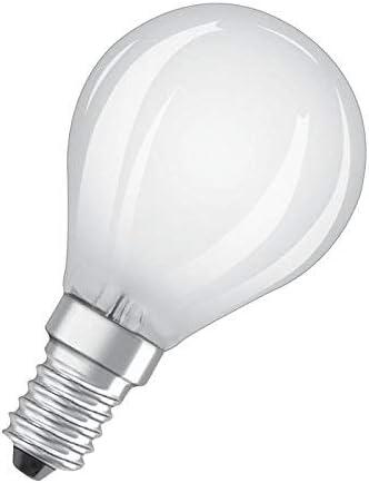 Osram LED Star+ Classic P CRI90 Lampe, in Tropfenform mit E14 Sockel, Erhöhter Farbwiedergabewert, Ersetzt 40 Watt, Matt, Warmweiß 2700 Kelvin,