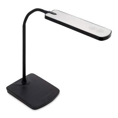 Alvin Table Lamp - Alvin Marbella, Black and Silver