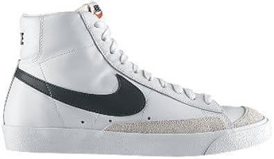 Amazon.com | Nike Blazer Mid 77 Premium Vintage White 537327 ...