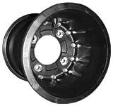 Hiper Wheel 10X9 RRSNGLBDLCK CF1 3+6 4/110 Rim & Spoke Kits CF1 Wheels BLK10X9 3+6 4/110 HONDA, CANNONDALE, SUZUKI, KAWASAKI, GAS GAS, ARC CAT - 1090-HCR-C-SBL-BK