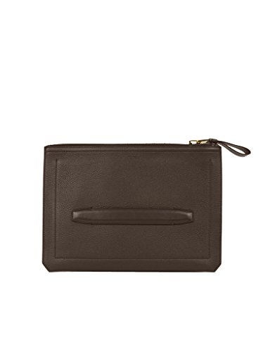 Tom Ford Men's Gray Leather Portfolio
