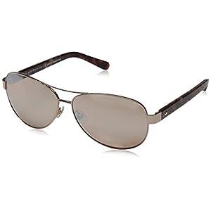 Kate Spade Women's Dalia 2 Aviator Sunglasses, Rose Gold & Brown Rose Mir, 135 mm