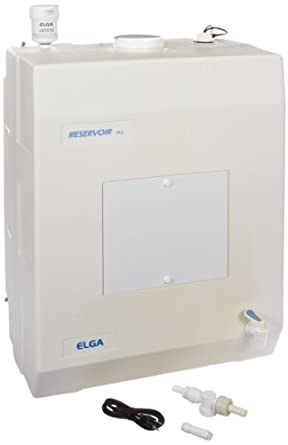Elga LA613 Polyethylene Stand Alone Reservoirs Storage Tank, 75L Capacity, 505mm Width x 680mm Height x 355mm Depth, For Water Purification Systems