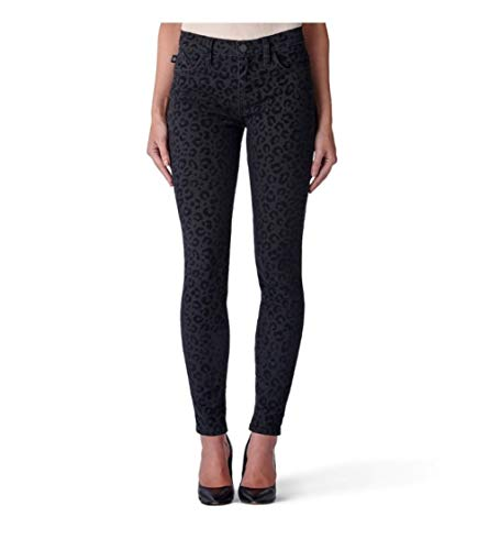 Rock & Republic Kashmiere Get Flocked Legging Skinny Black Jeans New $88 (12)