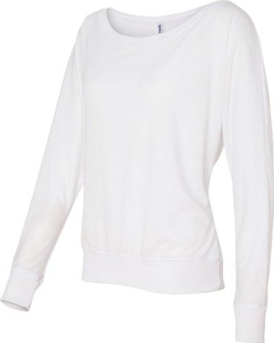 Traje de neopreno para mujer Bella 3,7 G. Long-con cierre de solapa y nivel de interrogatorio para el hombro T-camiseta de manga corta Off Weiß - Weiß