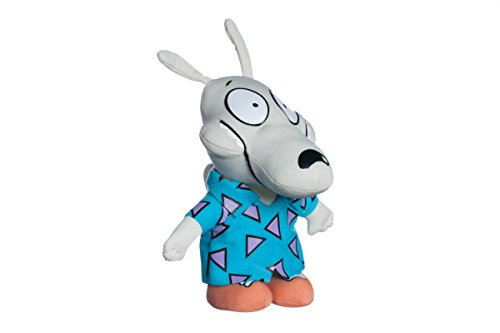Nickelodeon Super Deformed Classic '90s Nick Toons Rocko Plush Figure