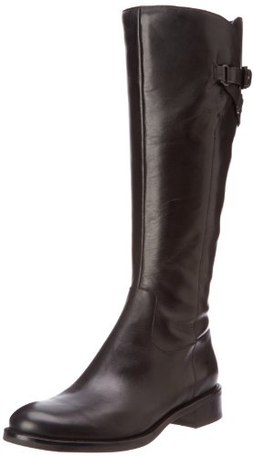 ECCO Women's Hobart Tall Strap Boot,Black,38 EU/7-7.5 M US