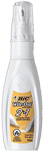 BIC Bottle Wite Out Correction BICWOPFP11