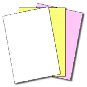 NCR Paper Straight Paper, 3-Part, 92GE, 8-1/2''x11'', 500SH/PK (NCR5909) by NCR