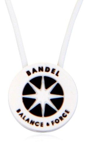 BANDEL(반델) 스포츠 건강 목걸이 화이트 쇼트 사이즈 40cm
