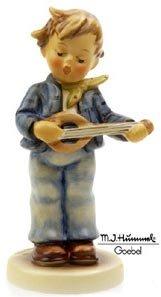 Hummel Figurine - Little Troubadour - Goebel Porcelain - Boy / Family - TM7