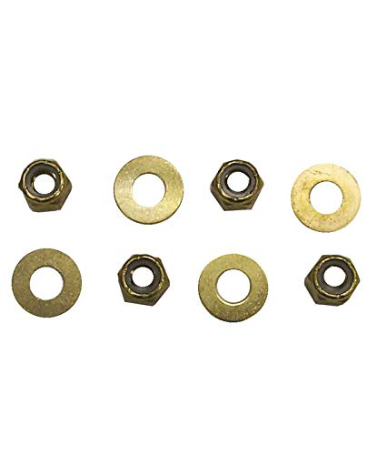 Sierra 18-8540 Brass Nut And Washer Kit, Crusader End Style Exhaust Riser
