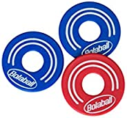 Bolaball All-Weather Washer Toss Game Replacement Washers, 8 Washers, Red and Blue