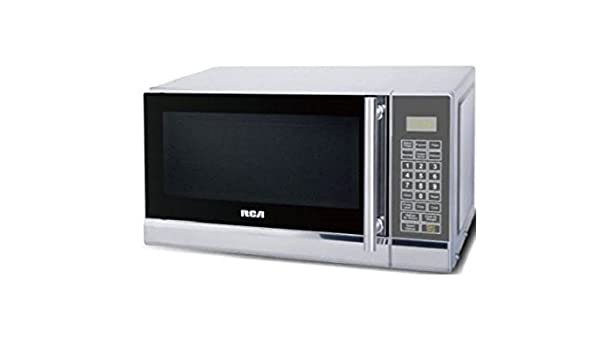 Rca Rmw741 07 Cubic Foot Microwave Stainless Steel Design Amazon