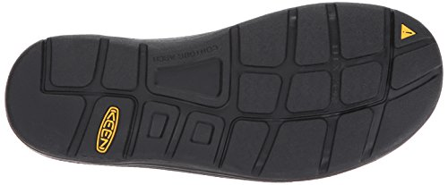KEEN Mens Uneek Leather-m Sandal, Dark Olive/Black Olive SC, 7 M US