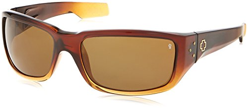 ine Polarized Sunglass, Maple Tort and Sand Frame/Bronze Lens (Bronze Reflex Brown Lens)
