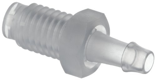 Value plastic abr j a barbed tube fitting threaded