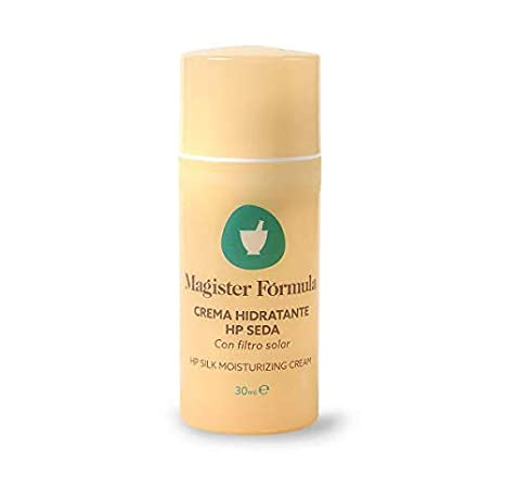Crema Hidratante Facial HP Seda 30ml | Extracto de Seda Natural | Piel Seca, Normal