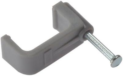 Forgefix FCC10G Flat Cable Clip Grey