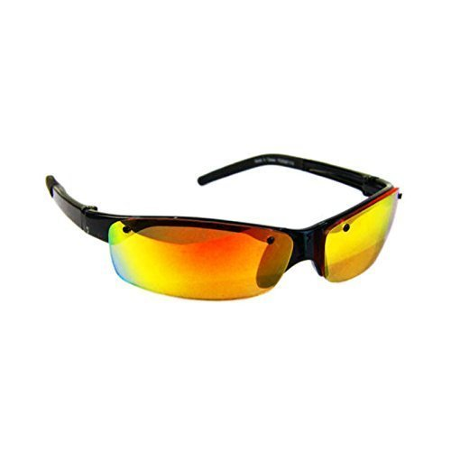Wee gafas de sol gafas de deporte Surf - negro/dorado ...