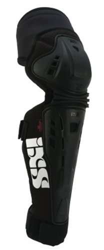 IXS Assault-Series knee pads black (Size: S) leg protector by IXS