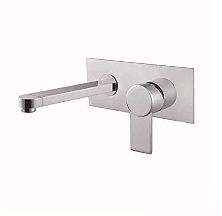 Furesnts Modern home kitchen and bathroom faucet Dark Waterfall ...