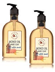 Bath and Body Works 2 Pack Fiji White sands Hand Soap With Monoi Oil. 8 Oz.