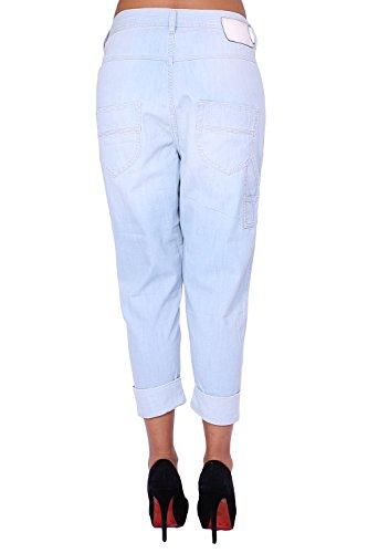 DIESEL - Jeans para Mujer TINTSIE 64X - Regular Tapered Azul