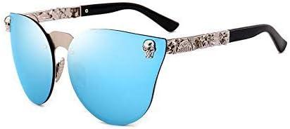 Gafas, Personalidad Polarizada Chapa Decorativa Pie Seda Protección Espejo (Color: D) Moda