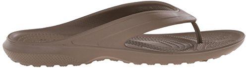 Crocs Classic - Sandalias de sintético para hombre Marrone (Walnut)