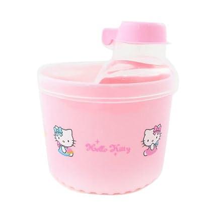 Sanrio Hello Kitty Dispensador de Fórmula de leche de bebé/almuerzo contenedor en rosa libre