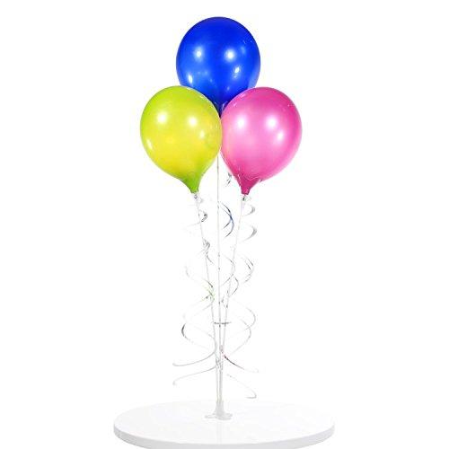 Reusable and Helium Free Triple Balloon Bouquet (Standard Helium Balloon Kit)
