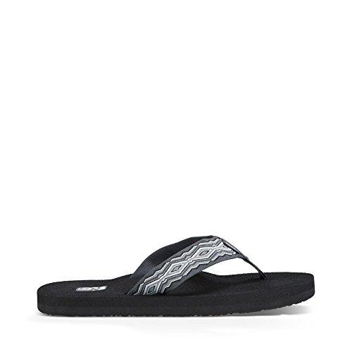 Teva Men's Mush II Flip Flop, Quincy Dark Grey, 13 M US